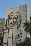 Che Guevara Image in Revolution Square Stock Photography
