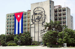 Che Guevara in Kuba Stockfotografie