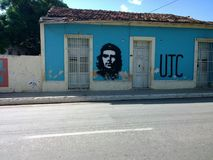 Che Guevara malowidło ścienne zdjęcia royalty free