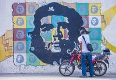 Che Guevara malowidło ścienne obraz royalty free