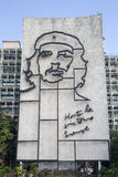 Che Guevara monument på Plaza de la Revolucion Royaltyfri Fotografi