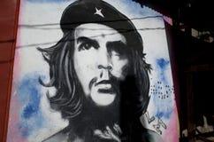 Che Guevara Mural imagem de stock