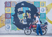Che Guevara mural Royalty Free Stock Images