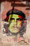 Che Guevara portrait colorfill Royalty Free Stock Photos