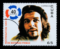Che Guevara Postage Stamp Stock Image