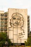 Che Guevara in Revolutie Vierkant Havana Stock Foto's