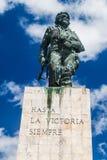 Che Guevara statua w Santa Clara, Cu fotografia royalty free
