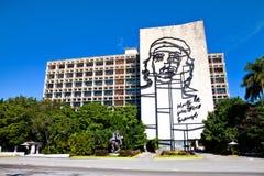 Che Guevara steel outline Stock Image