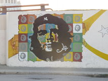 Che Guevara Street Mural Royalty Free Stock Photography