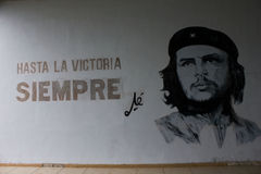 Che Guevara Wall Art Royalty Free Stock Photo