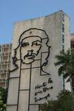 Che Guevara wizerunek w rewolucja kwadracie fotografia stock