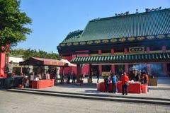 Che Kung świątynia w Hong Kong, Chiny obrazy royalty free