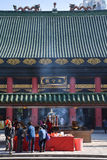 Che Kung świątynia w Hong Kong, Chiny zdjęcia stock