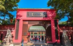 Che Kung Miu świątynia w Hong Kong, Chiny zdjęcia royalty free
