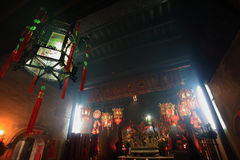 Che kung temple at ho chung. The Temple is one of the oldest in Hong Kong. It honours Che Kung, a great general during the Sung Dynasty (AD 960-1279) who royalty free stock photo
