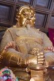 Che Kung Temple på Sha tenn arkivfoton