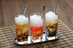 Che, minestra dolce fredda vietnamita del dessert immagine stock
