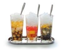 Che, minestra dolce fredda vietnamita del dessert immagini stock