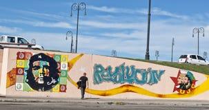 Che Mural Royaltyfri Foto