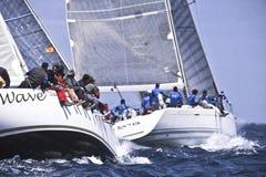 40º che naviga Trophy Conde de Godo Fotografia Stock