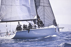 40º che naviga Trophy Conde de Godo Fotografie Stock