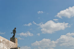 Che Statue. Tomb of Che, Santa Clara, Cuba royalty free stock photography