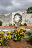Che Stone Mosaic i Matanzas Arkivbilder