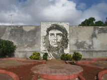 Che Stone Mosaic in Matanzas Royalty Free Stock Photo