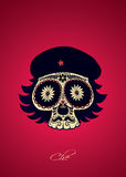 Che sugar skull Stock Images