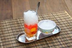 Che, wietnamczyk zimna słodka deserowa polewka fotografia stock