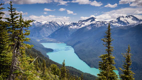 Cheakamus lake Arkivbilder
