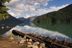 Cheakamus lake, garibaldi provincial park Stock Image