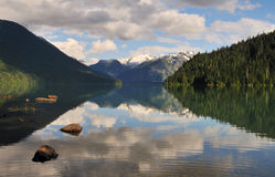 Cheakamus lake, garibaldi provincial park Stock Photo