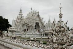 Cheangrai Thaïlande de temple de Rongkhun Image stock