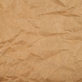Cheap brown packaging paper Stock Image