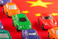 Cheap Chinese car imports (2) Stock Images