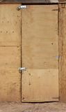 Cheap door Royalty Free Stock Photo