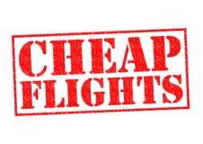 CHEAP FLIGHTS royalty free illustration
