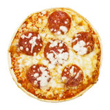 Cheap frozen pizza Royalty Free Stock Images