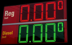 Cheap Gas Royalty Free Stock Image
