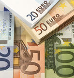 Cheap-Money-Euro-European currency Stock Image