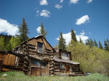 Cheap Mountain Real Estate Royalty Free Stock Images