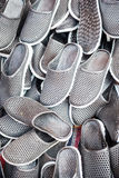 Cheap plastic Moroccan slippers Stock Image