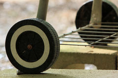 Cheap plastic tire Stock Photography