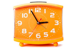 Cheap quartz alarm clock Stock Photos