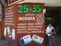 Cheap viagra. Pharmacy shop in the Mexican border city Tijuana Royalty Free Stock Photography