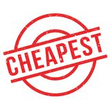 Cheapest rubber stamp Royalty Free Stock Photography