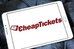 CheapTickets旅行公司商标 免版税库存照片