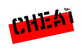 Cheat rubber stamp Royalty Free Stock Photography