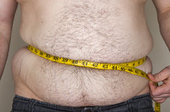 Cheating weight loss Royalty Free Stock Photography